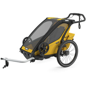 Thule Chariot Sport 1 Bike Trailer spectra yellow